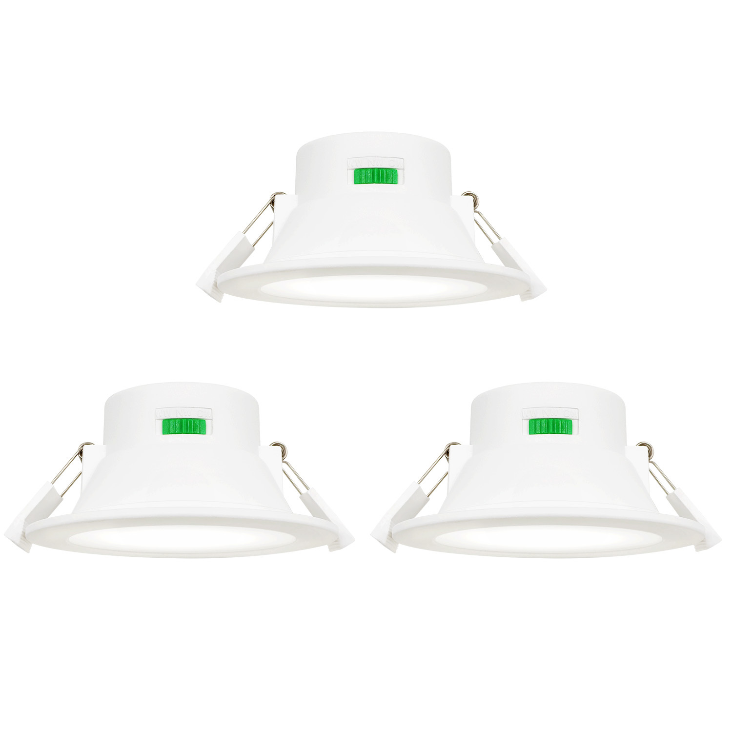 Dimmable 10w Led Ceiling Downlights Recessed Lights Warm