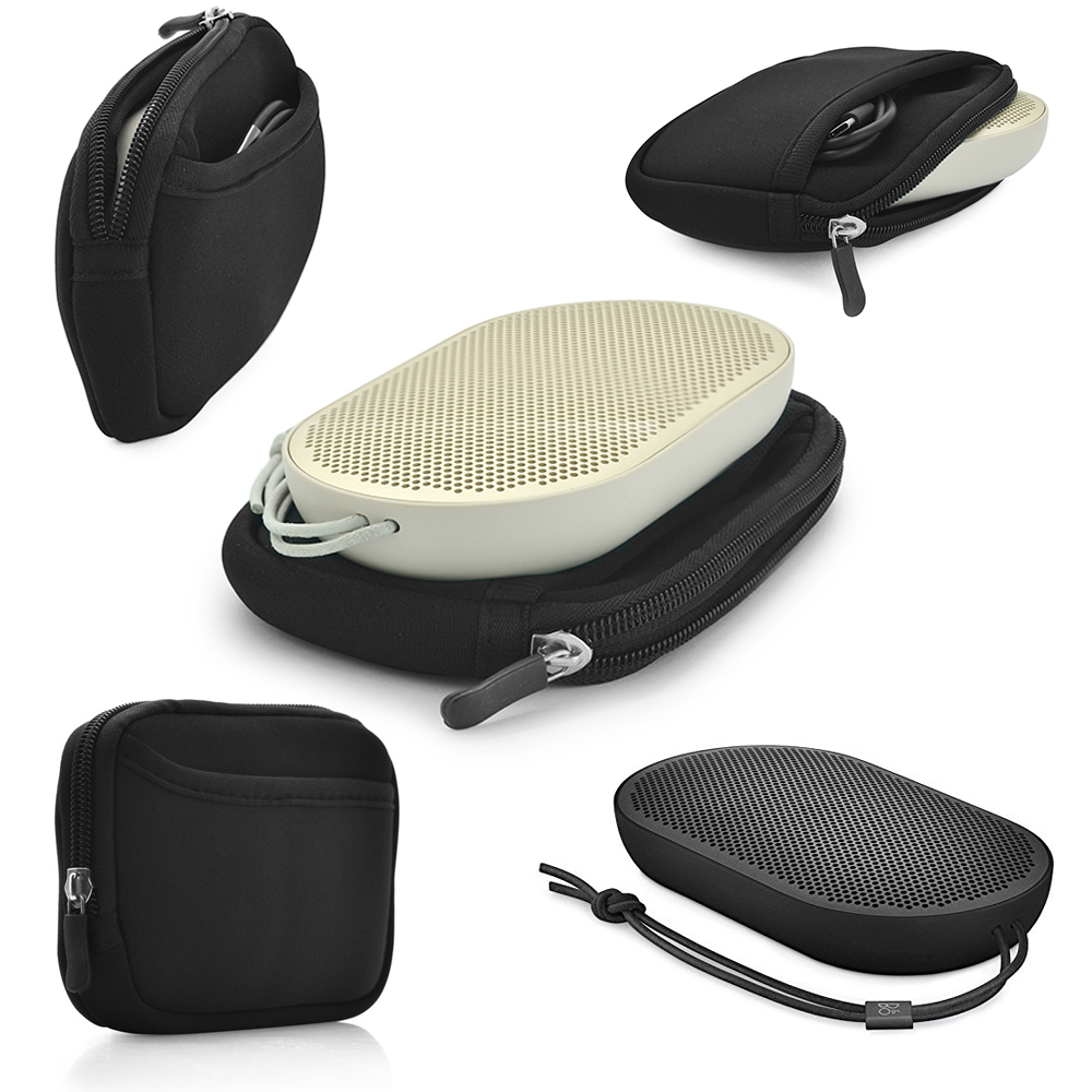 New Top Portable Protective Carrying Cover Case Bag For B&O PLAY by Bang & Olufsen Beoplay P2 Bluetooth Speaker(Only Bag)