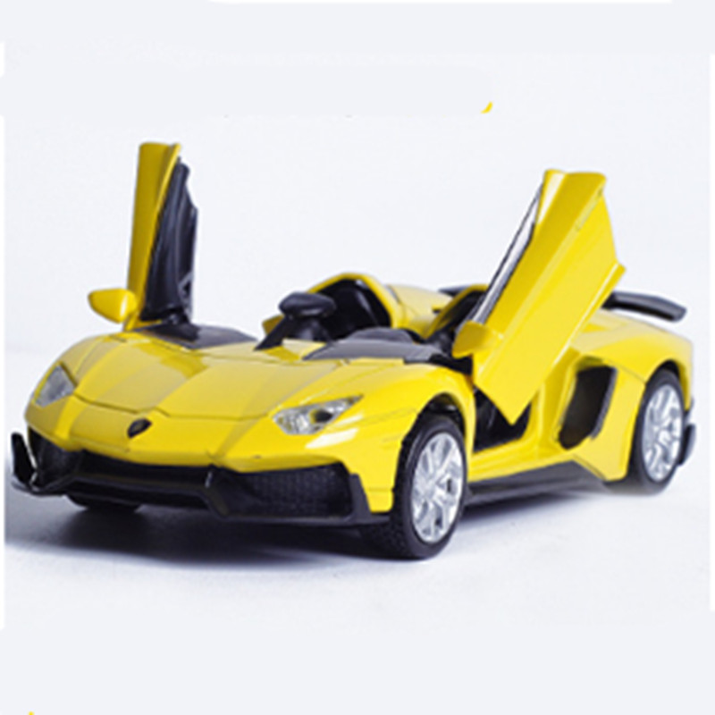 Double Horse 1:32 Hot Alloy metal Diecast <font><b>Car</b></font> Aiwenta Galibier <font><b>Electronic</b></font> light sound Pull Back <font><b>Cars</b></font> Model Kids <font><b>Toys</b></font> for Boys image