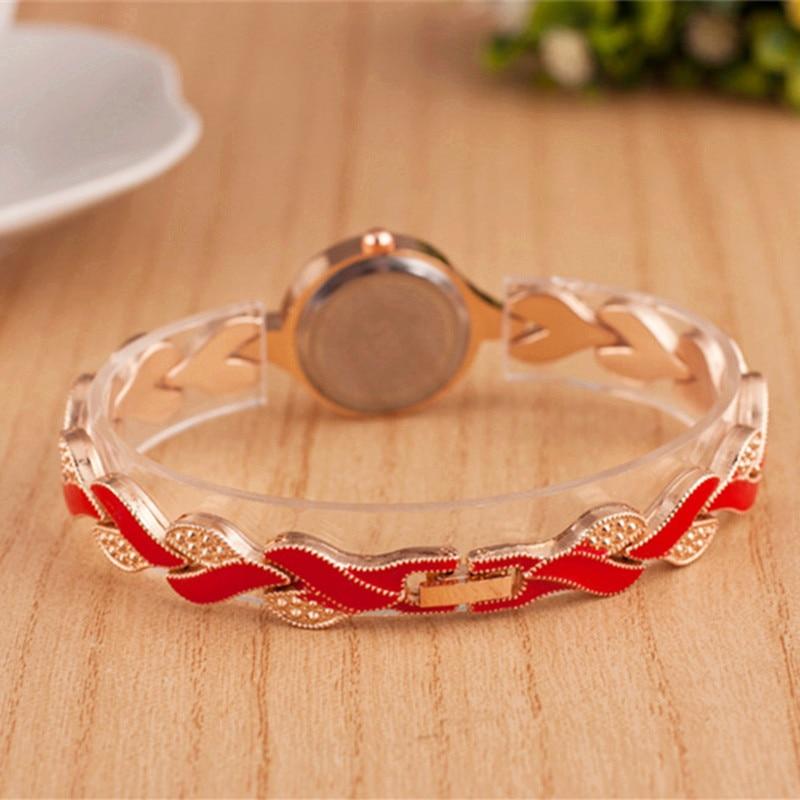2019 nowy marka JW bransoletki z zegarkiem kobiety luksusowy kryształ sukienka zegarki na rękę zegar moda damska zegarek kwarcowy na co dzień reloj mujer 6