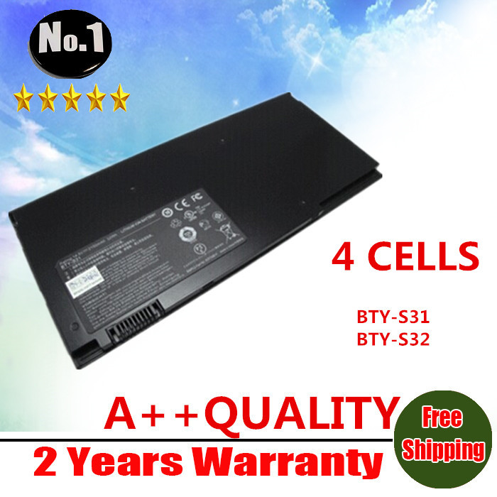 ФОТО WHOLESALE New 4CELLS original laptop battery For MSI 13