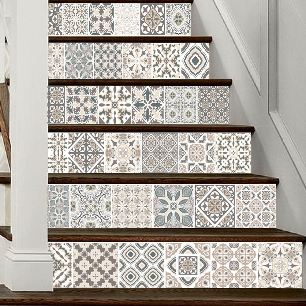Neymar Arabia Style Europe Patter Home Office Decal Stairs Stickers ...