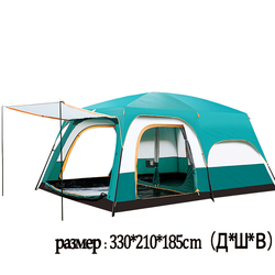 outdoor camping 6 people, 8 people, two rooms, one hall, camping tent naturehike party tent backpacking tent