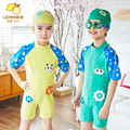 Kids Boy Girl Cartoon Robot Swimwear One-piece Swimming Suit Children Swimsuit Beach Bathing Clothing bikini swim sets