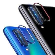 For Xiaomi Mi 9 SE Camera Lens Screen Protector + Metal Rear Lens Ring Cae for Xiaomi Mi9 SE Mi 9se Mi 8 Mi8 Tempered Glass все цены