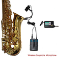ROCK wireless saxophone microphone for radio recording capacity outdoor musical performances complete set