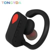 Bluetooth 4.1 Running Sweatproof Earphone Wireless Earbud Ear Hook Stereo Handfree with Microphone Sport Headphone for Driving