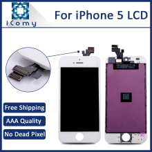 Hotsale AAA LCD Digitizer For iPhone 5 Display Assembly, Tianma LCD Screen For iPhone 5G, DHL Free Shipping