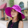 The children of the summer sun visor cap summer lady hat UV folding beach sun.