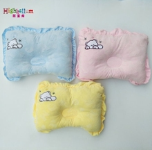 Newborn Baby Pillow Sleepping Positioner Prevent Flat Head Shape Support High Quality 100 Cotton Soft Lacework