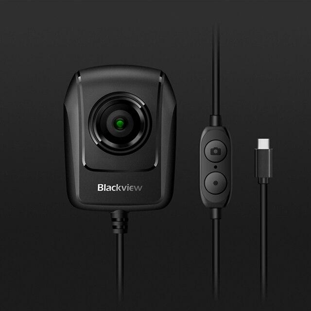 Ban đầu Camera Hành Trình Blackview Tầm Nhìn Ban Đêm Camera Kép Cho BV9700 Pro Chắc Chắn Điện Thoại Thông Minh Loại C Jack