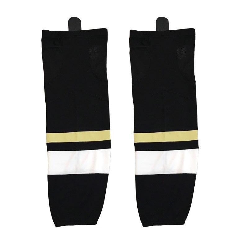 Coldindoor 100 Polyester Pittsburgh Ice Hockey Socks Cheap Shin