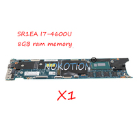 NOKOTION FRU 00HN769 Laptop motherboard for Lenovo Thinkpad X1 Carbon Gen2 Ultrabook SR1EA I7 4600U 8GB memory Mainboard Works