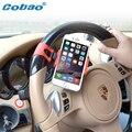 Cobao Телефон Держатель для Автомобиля Рулевого 360 градусов вращения Колеса Автомобиля Универсальные Крепления Держатель Для Мобильного Телефона, GPS, Mp3, Mp4