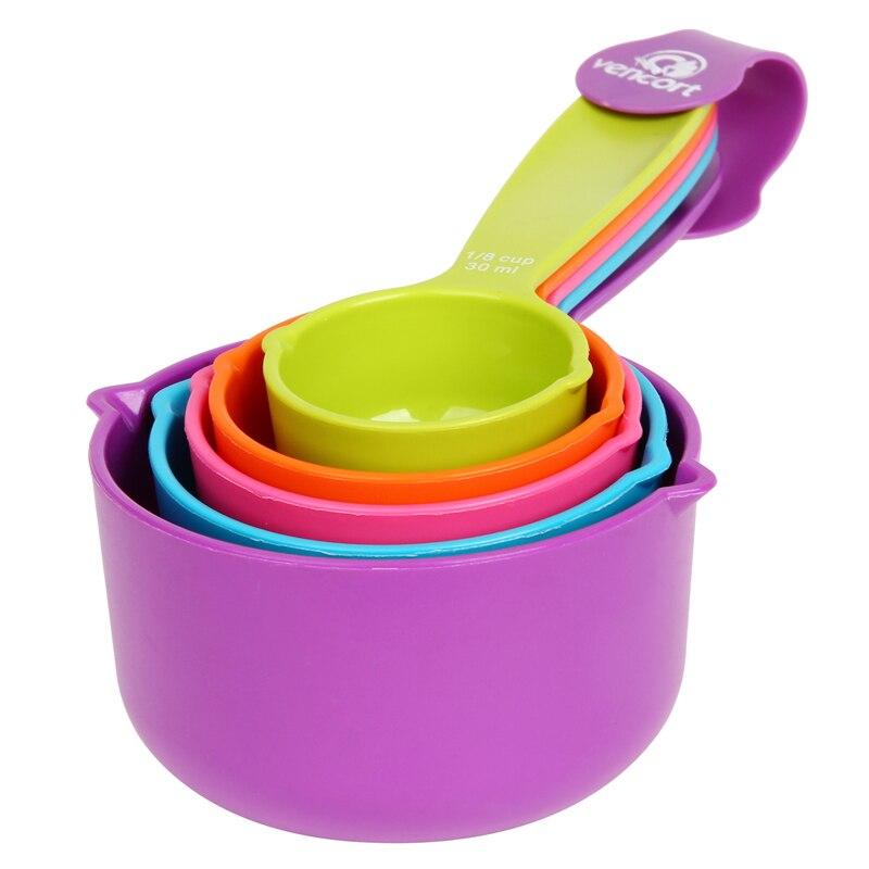 5pcs set measuring spoons colourworks kitchen measuring cup and spoon baking utensil set spoon. Black Bedroom Furniture Sets. Home Design Ideas