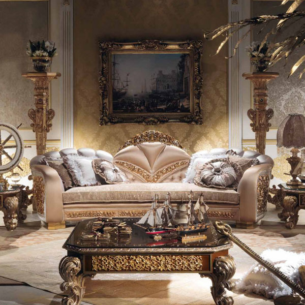 ornate living room furniture european style luxury imperial flower decorative living 14835