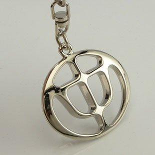 Free shipping! 3D badge/logo car keyring/keychain/keychains/key chain with gift box for 20 PCS  NO 36