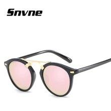 Snvne película de color de ojos de gato gafas de Sol Retro gafas de sol para hombres mujeres Marca de diseño gafas de sol oculos feminino hombre KK156