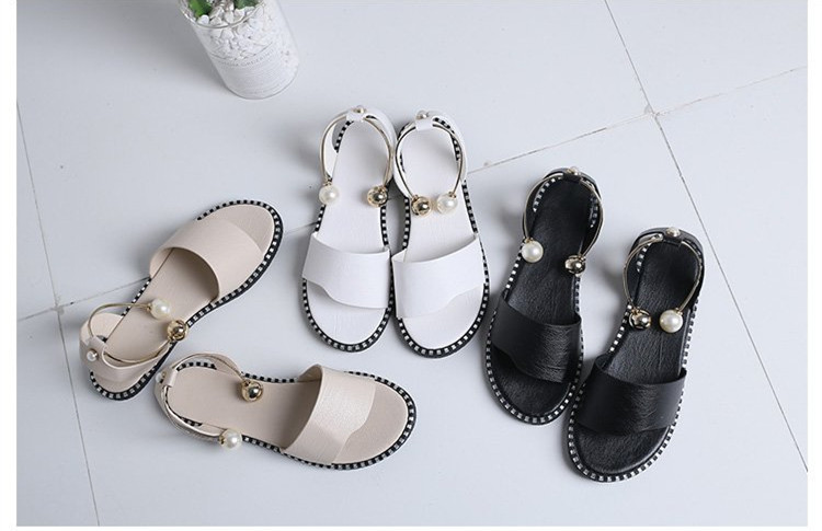 Women Sandals Flip Flops 2018 New Summer Fashion Rome Slip-On Breathable Non-slip Shoes Woman Slides Solid Casual Female