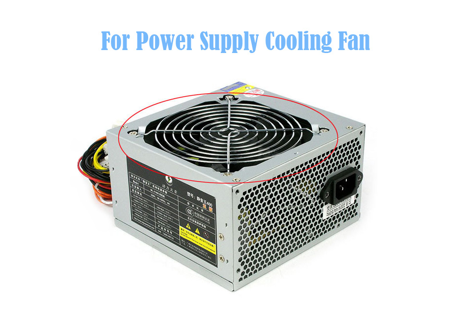 TOP F12025 120mm Computer Fan Cooler 12V (7)