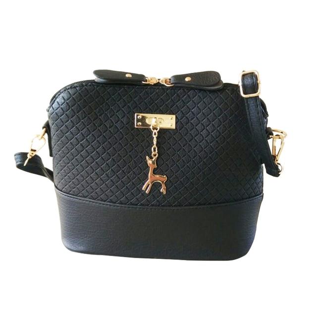 HJPHOEBAG 2017 New Fashion Shell Women Messenger Bags High quality Deer Cross body Bag PU Leather Mini Female Shoulder Bag Z-151