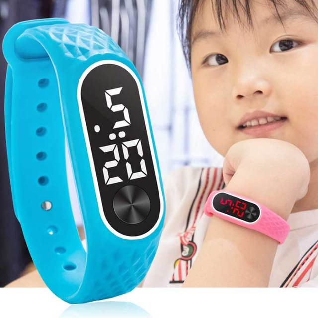 Upgraded version LED watches children's primary secondary school students lumino