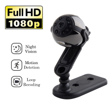SQ9 Mini Wireless Camera HD Video 1080P Indoor IR-CUT Night Vision CCTV Home Security Concealed Sport Micro Cam with Mic