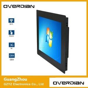 """Image 2 - 17 """"Win7 System Industrielle Computer Haushalts Embedded Computer ResistanceTouch Flugzeug computer 4:3 Bildschirm Einzelne Touch 1280*1024"""