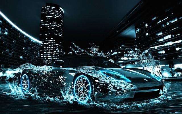 30*45cm Cool Sports Car 5D Diamond Painting Rhinestone Crystal Stitch DIY  Decorations Cross Stitch