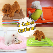 Soft pet bed Warm Puppy Cat Fleece Beds Winter Dog Bed Mat Pet Cushion Blanket For Small Dogs Cats Pad Chihuahua cama perro extra large soft cosy warm fleece pet dog cat animal blanket bed mat pad