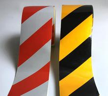 ФОТО 45meters width 10cm, low reflective traffic warning color adhesive tape, safety equipment warning tape with glue,