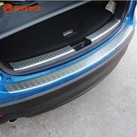 For Mazda CX5 CX 5 Rear Bumper Protector Car Rearguards 3M Stickers Trunk Guard Sill Plate