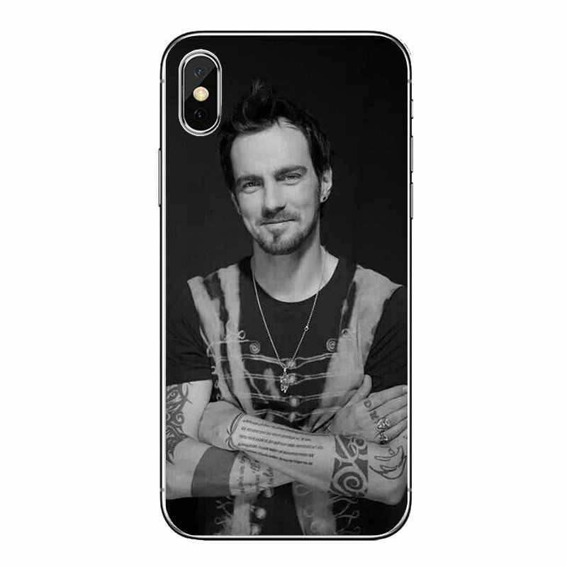 Silicone Phone Case For Samsung Galaxy A5 A6 A7 A8 A9 J4 J5 J7 J8 2017 2018 Plus Prime Three Days Grace TDG 3DG HUMAN Album Band