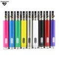 GS Ego II bateria Torção Tensão Variável 3.3-4.8 V 2200 mah EGO bateria e cigarro 2 ego Vaporizador torção com decoração anel