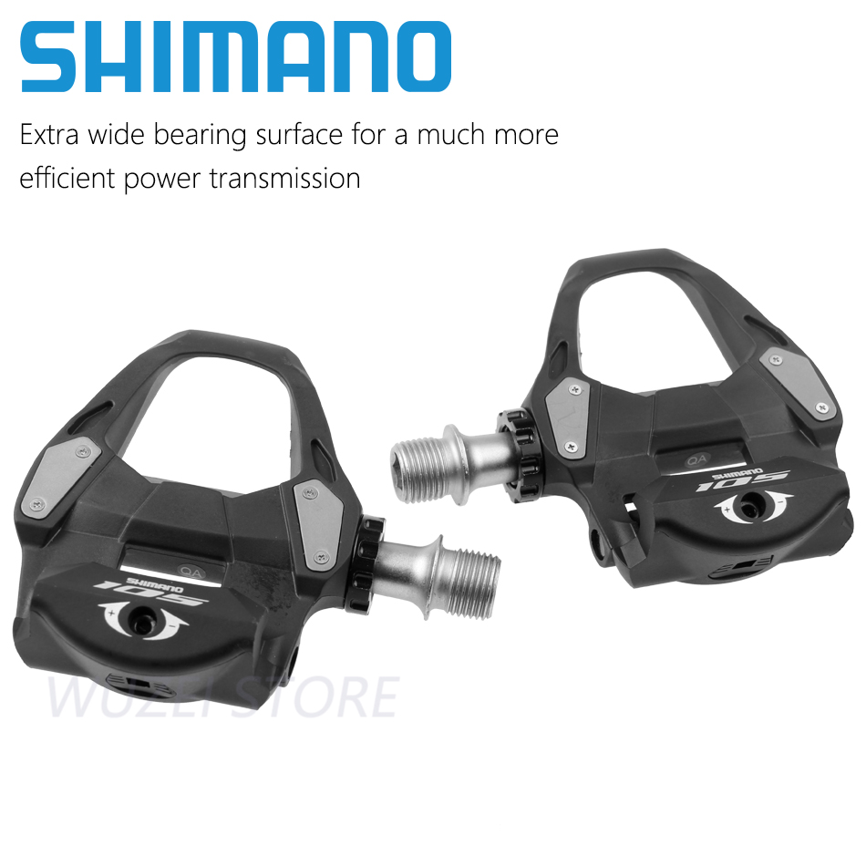 Componentes de pedales SPD de bloqueo automático SHIMANO 105 PD 5800/R7000 que se utilizan para piezas de bicicleta de carretera - 4