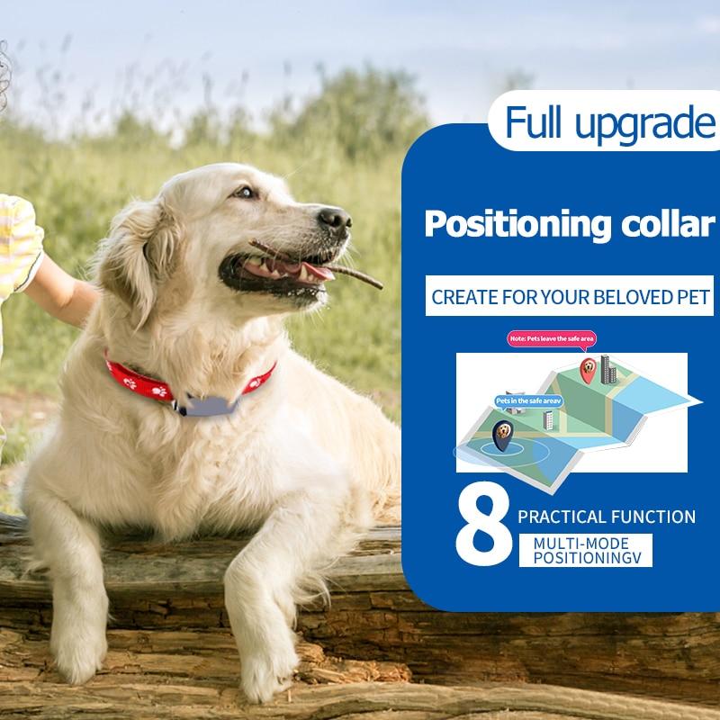 Impermeabile Pet Dog Cat GPS GSM WiFi LBS Tracker Locator Sistema di Posizione di Monitoraggio in Tempo Reale Geo-Fence APP dispositivo di allarme