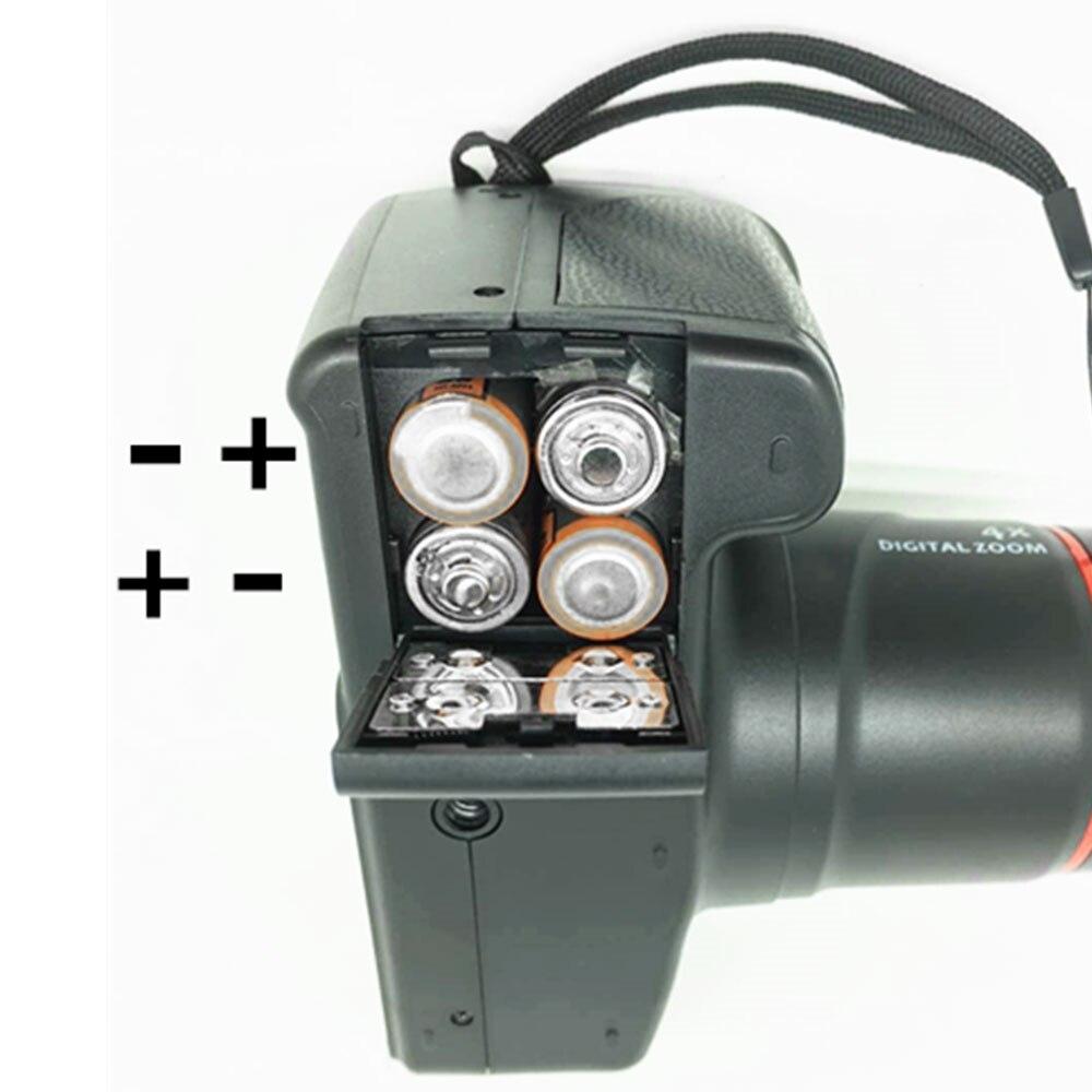 Cewaal professionnel numérique caméscope numérique caméra numérique 1200 W optique Zoom 4X DVR photographie Photo CMOS DV caméscope - 6