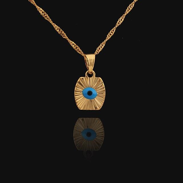 Vintage gold color turkey evil eye pendant necklace blue eye vintage gold color turkey evil eye pendant necklace blue eye pendant for woemn man aloadofball Images
