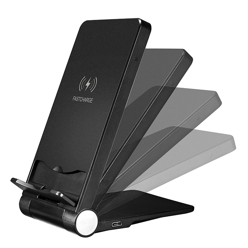 HOT 10W Qi Wireless Charger Stand Fast Charging Holder for iPhone XR XS XS MAX BUS66