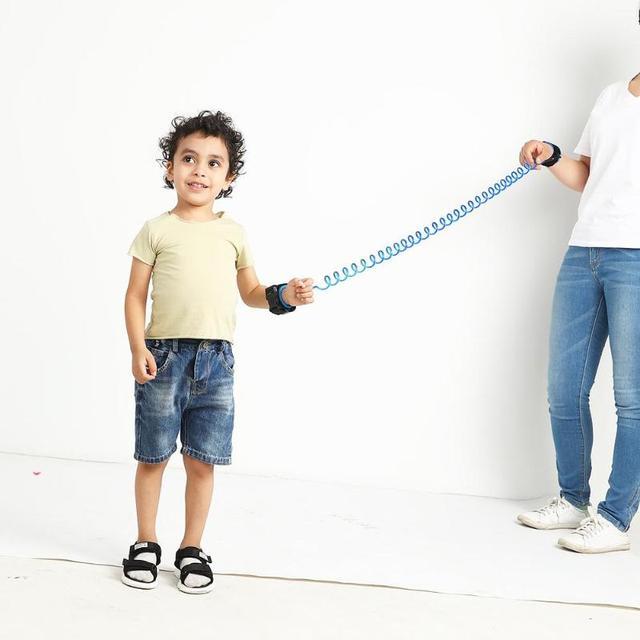 1.5/2/2.5M Kids Outdoor Walking Hand Belt Children Safety Anti Lost Wrist Link Strap Rope Parent-child Adjustable Harness Leash 4