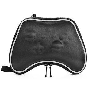 Image 2 - Bolsa de transporte de viaje dura a prueba de golpes funda protectora para mando de juego para Xbox One Gamepads EVA, bolsa de transporte, funda de almacenamiento
