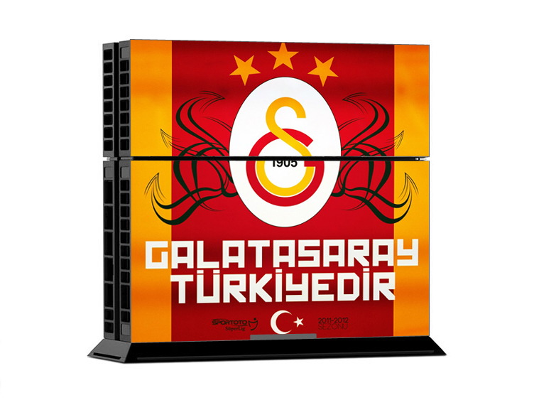 Superb Galatasaray PS Skin Sticker PS Vinyl Decals Wrap For - Superb vinyl decals