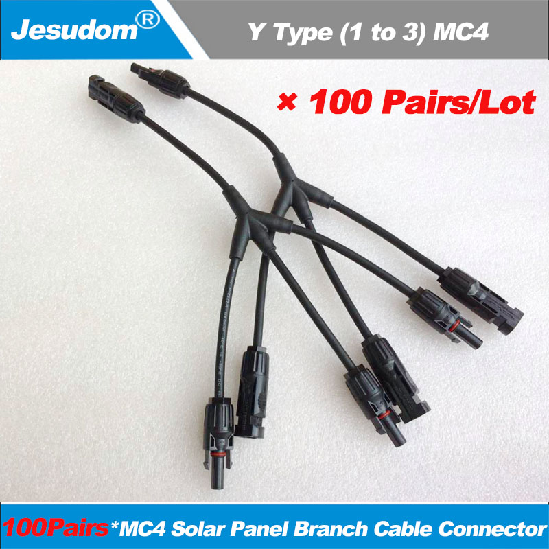 5-100Pairs MC4 30A Male Female M//F Wire PV Cable Connector Set Solar Panel Lot