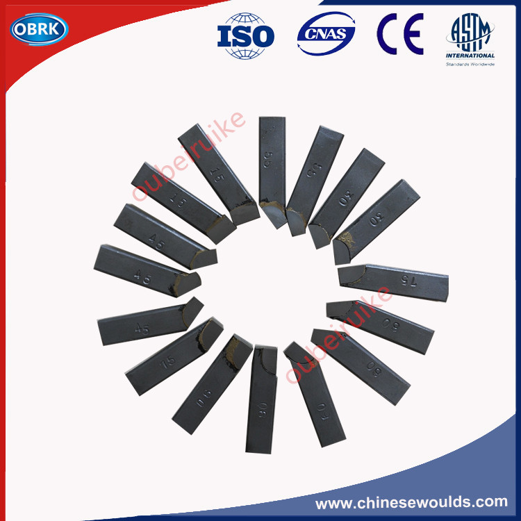 Valve Seat Cutting Serrated Blades Cutter Heads Boring Cutters Blades (Unit Price)