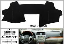 Car Dashboard Avoid light pad Instrument platform desk cover Mats Carpets suitable for Toyota Camry 2009
