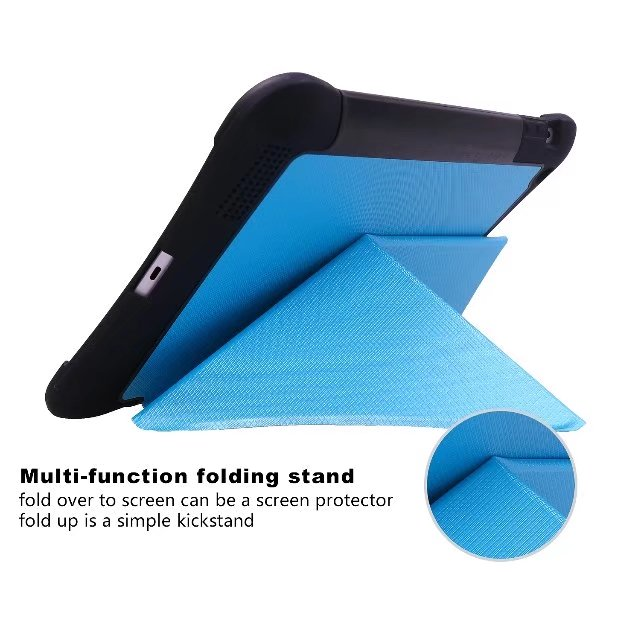 все цены на Multi-Function Folding Stand Case Cover for iPad 2/3/4 Tablet Protective Shockproof Shell skin Wake up/Sleep Tempered Glass+gift онлайн