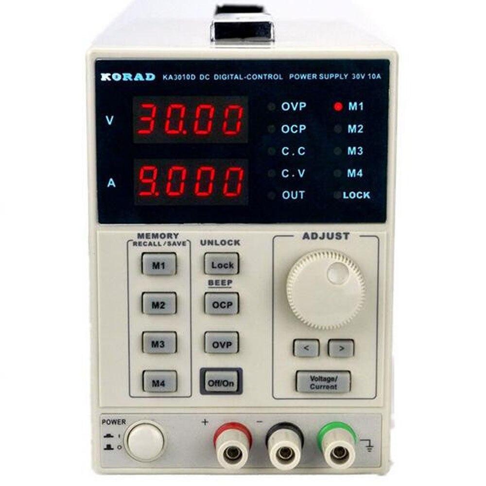 KORAD KA3010D-précision Variable réglable 30 V, 10A DC alimentation linéaire numérique régulée qualité de laboratoire