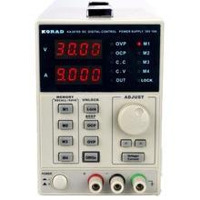 KORAD KA3010D precyzyjna regulacja zmiennej 30 V, 10A DC zasilaczem sterowanie cyfrowe klasy