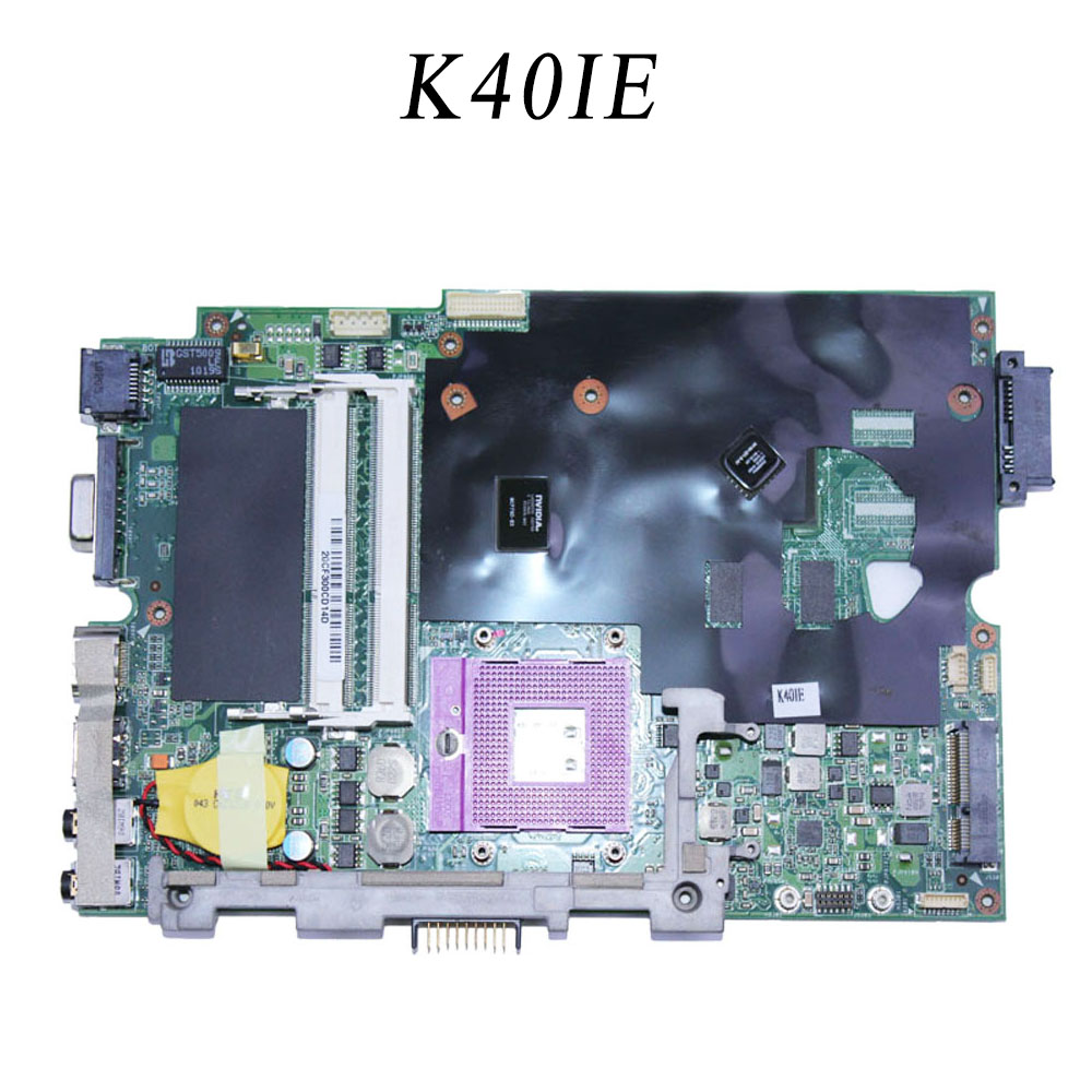 for Asus K40IE motherboard 512M 4 Memory K40ID mainboard For the 14-inch screen notebook tested