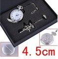 FULLMETAL ALCHEMIST Reloj de Bolsillo de Cuarzo 4.5 cm Dial Redondo Reloj de Las Mujeres y Los Hombres Reciben Regalos Envío Gratis
